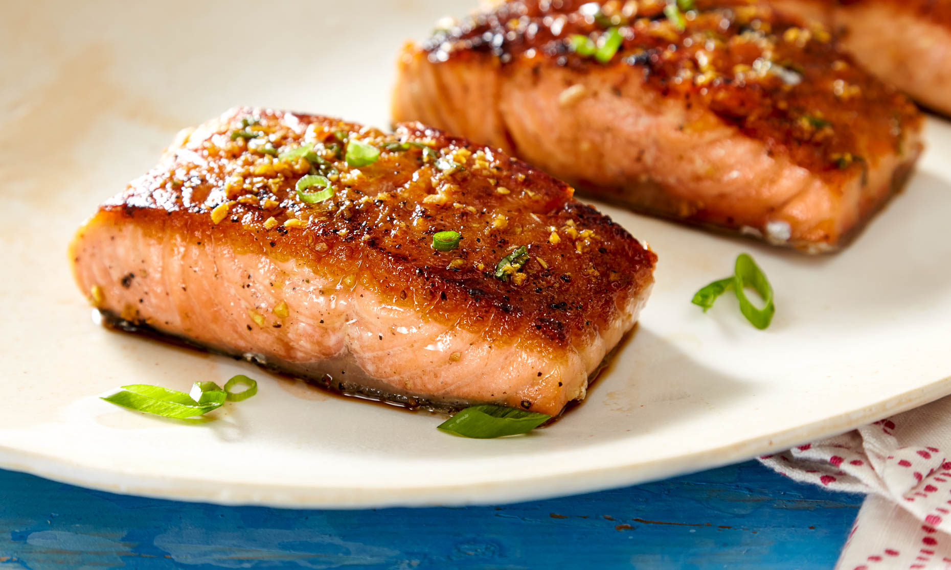 grilled salmon food photography lifestyle photography
