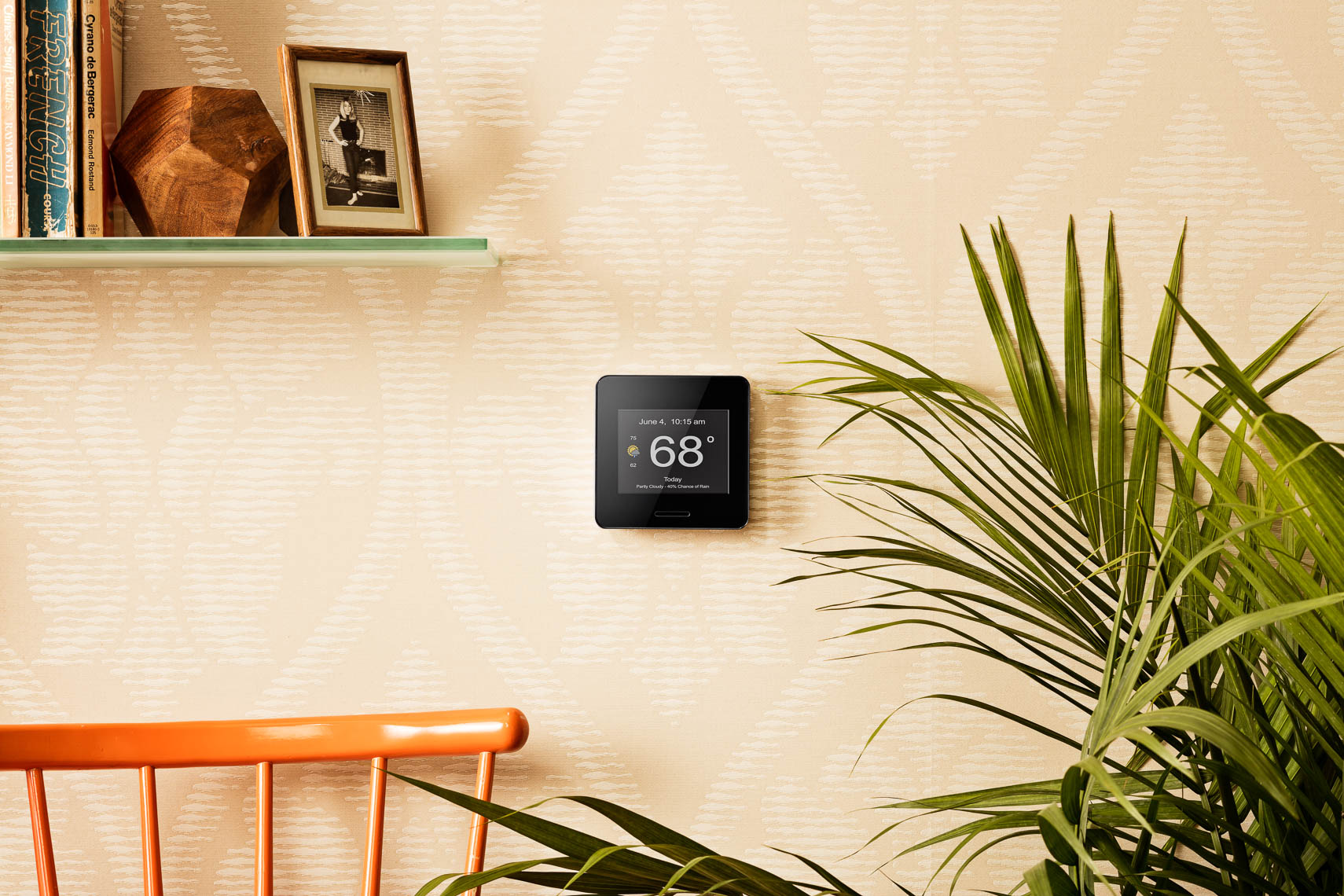 product photographer lifestyle photography of wifi weather station  still life