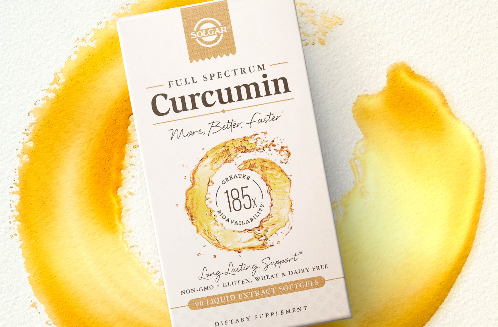 curcumin vitamin still life product photography