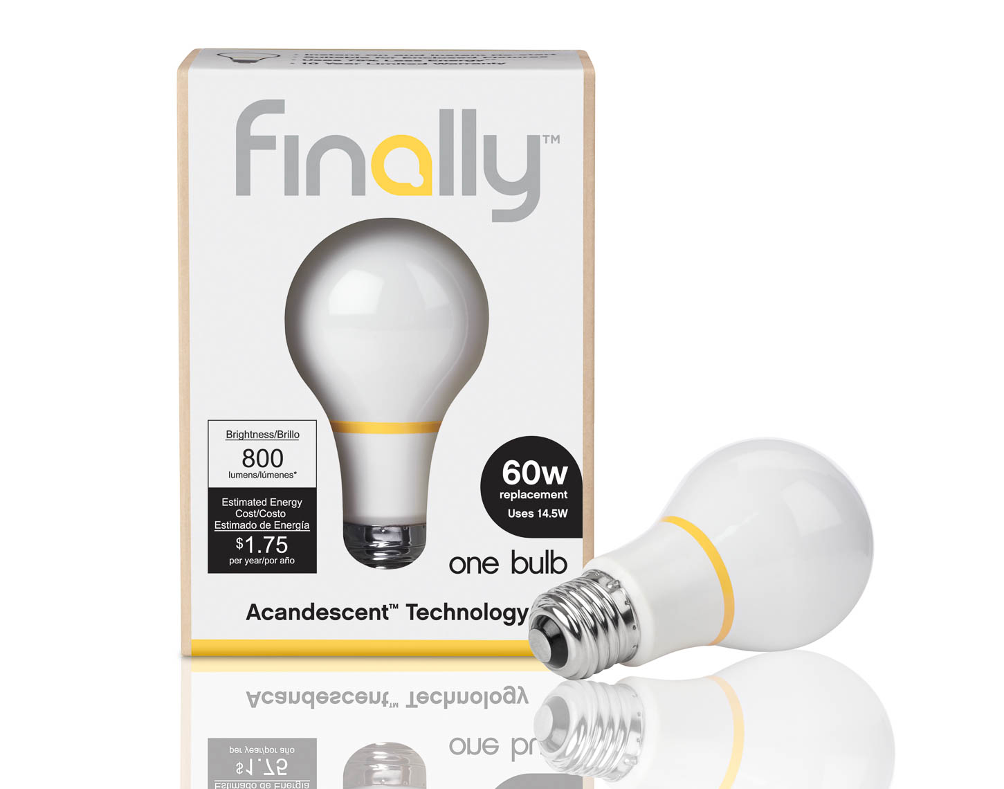 LED bulbs packaging